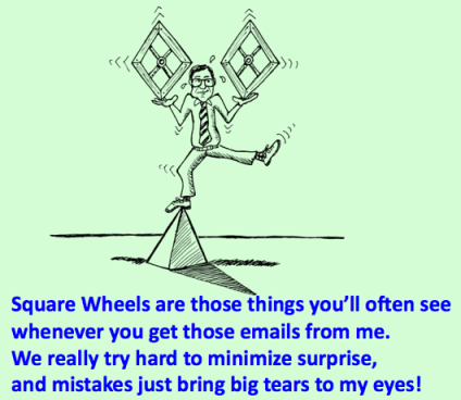 Square Wheels image - Balance tears to eyes poem