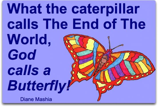 Caterpillar calls end of world image