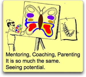 Mentoring Coaching haiku