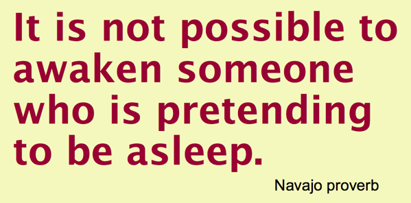 Navajo Not possible to awaken