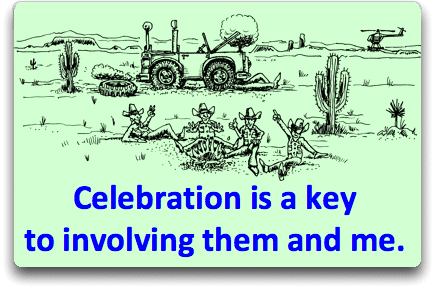 Celebration and Collaboration improve Teamwork