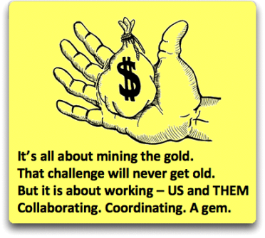LD Gold Hand Mining poem