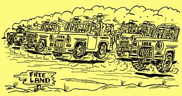 LD Land Rush yellow Free Land