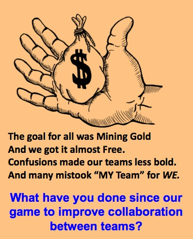 LD Gold Hand Mining Gold Collaborate question