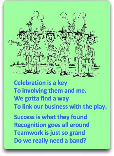 poem and cartoon about teamwork and success