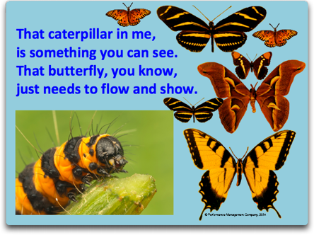Caterpillar in Me flow and show poem
