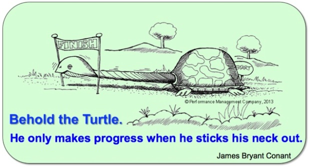 Behold the Turtle quote green words