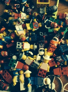 chaos done with LEGO