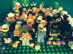 A LEGO representation of My Team