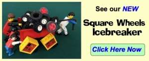 Square Wheels LEGO Click to see Icebreaker