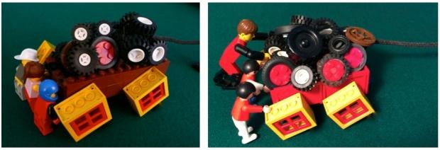 SWs One Comparison LEGO Hybrid