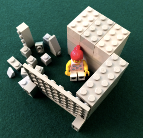 A LEGO model for dis-un-engagement by Dr. Scott Simmerman