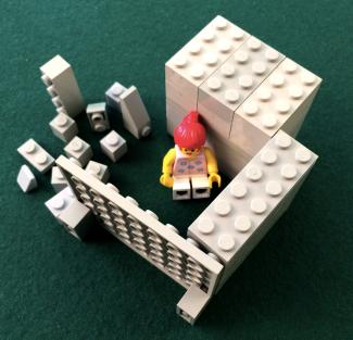 A LEGO model for dis-un-engagement by Dr. Scott Simmerman