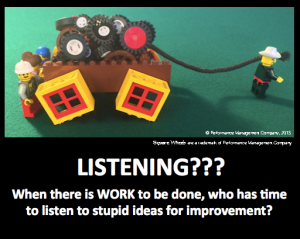 Listening is about skill and intention - image by Scott Simmerman