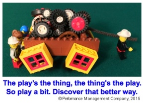 A Dr. Seuss poem about play and Square Wheels