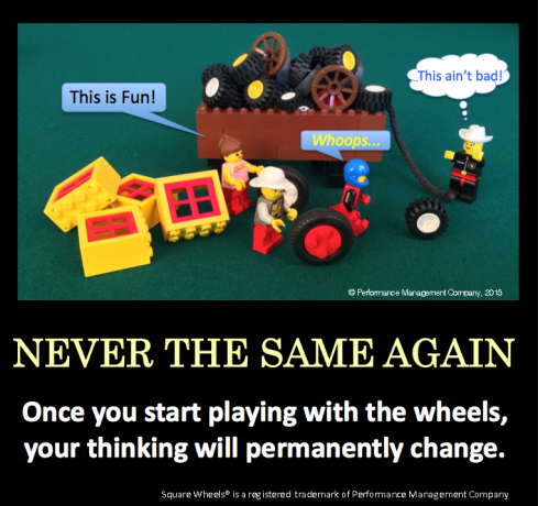 Square Wheels Poster Image on change and engagement