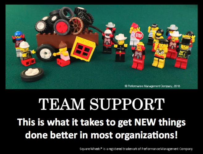 Peer support is team support, by Scott Simmerman