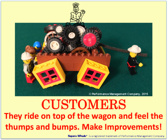 Square Wheels Image and Poster on Customers