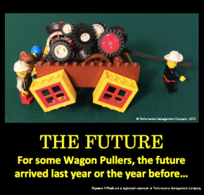 Square Wheels LEGO image of The Future by Scott Simmerman