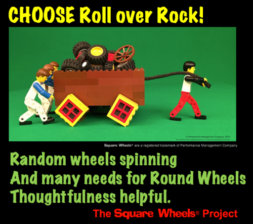 Haiku poem on thoughtfulness by Scott Simmerman of The Square Wheels Project