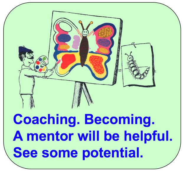 Haiku Coaching Mentor Butterfly potential 2017