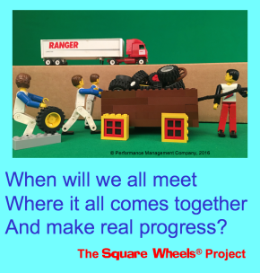 Square Wheels Haiku on business process improvement