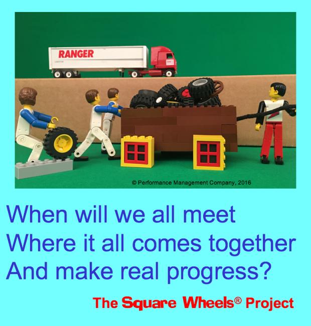 Square Wheels Haiku on business process improvement