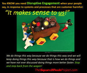 positve Disruptive Engagement and the need for perspective