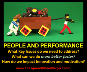 Disruptive Engagement is about people and performance improvement ideas