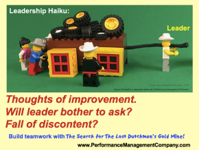 Business haiku of Square Wheels and employee engagement and leadership