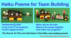 Haiku business poems on people and performance and teamwork