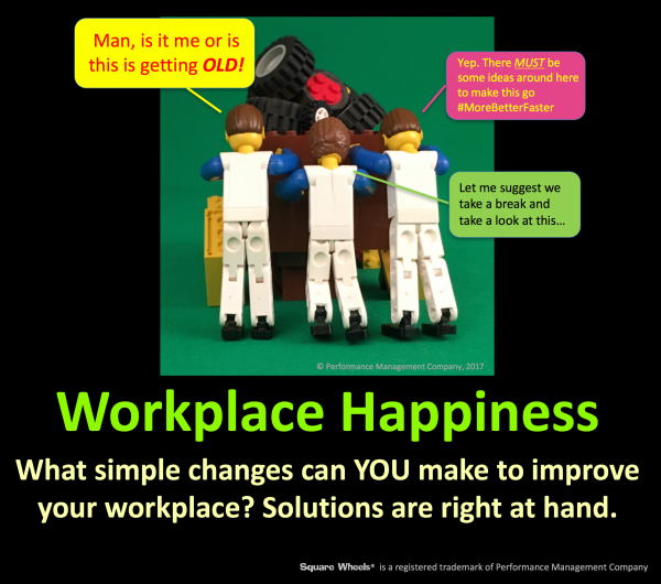 Choose a little Workplace Happiness and improve results