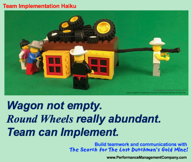 LDGM Haiku Team Can Implement