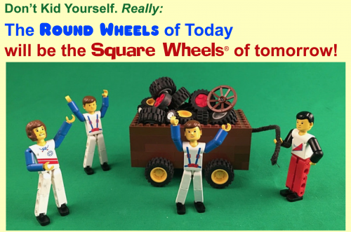 Square Wheels Round Wheels